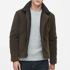 Banana Republic Italian Moleskin Deck Jacket